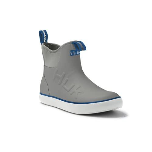 HUK Rogue Wave Shoe   High-Performance Fishing & Deck Boot, Grey, 11