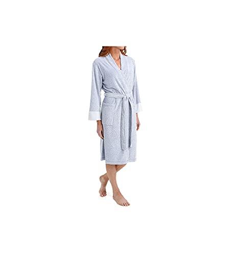 N Natori Women's Nirvana Robe, Imperial Blue, Medium