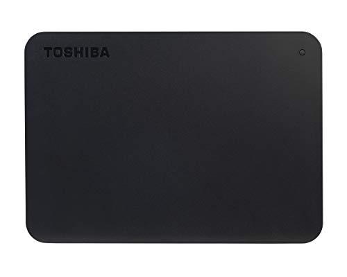 Toshiba Canvio Basics 4TB Portable External Hard Drive USB 3.0, Black - HDTB440XK3CA