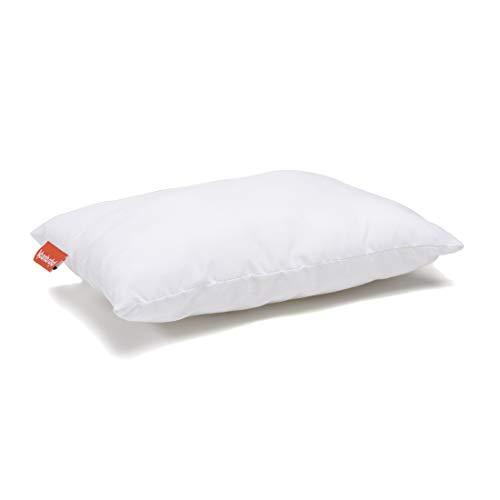 Urban Infant Pipsqueak Small | Tiny | Mini Pillow with Name Tag - 11' x 7' x 2.5' - Machine Washable - White