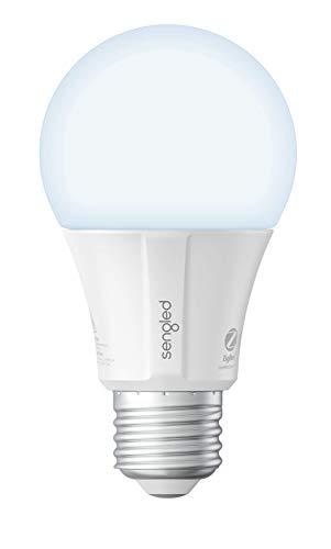 Sengled Alexa Light Bulb, Smart Bulb that work with Alexa, Google Home, Smart LED Light Bulb 800LM Daylight, Smart Light Bulb 60W Equivalent, Zigbee Smart Hub Required, A19 Dimmable Smart bulb, 1 Pack