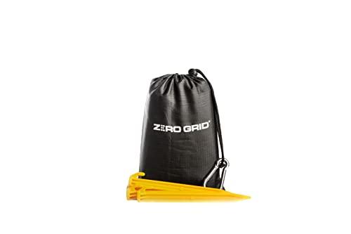 Zero Grid Beach Blanket Sandproof Waterproof Compact Pocket Blanket, Lightweight and Portable