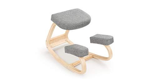 UPLIFT Desk - Ergonomic Kneeling Chair (Gray)