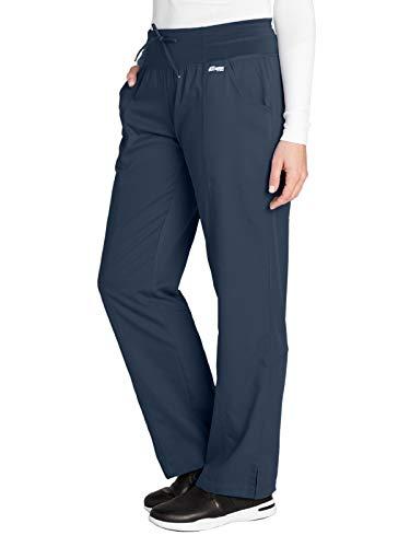Grey's Anatomy Active 4276 Yoga Pant Steel S Petite
