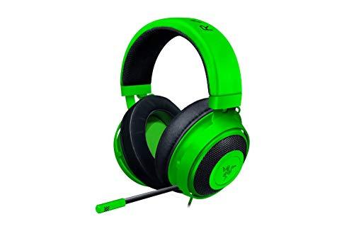 Razer Kraken Gaming Headset 2019: Lightweight Aluminum Frame - Retractable Cardioid Mic - for PC, Xbox, PS4, Nintendo Switch - Green