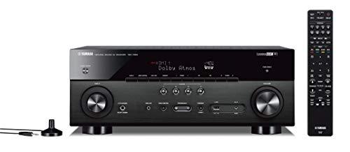 Yamaha TSR-7850R 7.2CH Dolby Atmos DTS Wi-Fi BT 4K Receiver, Black (Renewed)