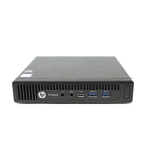 HP 600 G1 Micro Computer Mini Tower PC (Intel Quad Core i3-4160T, 8GB DDR3 Ram, 256GB Solid State SSD, WIFI, VGA, USB 3.0) Win 10 Pro (Renewed)