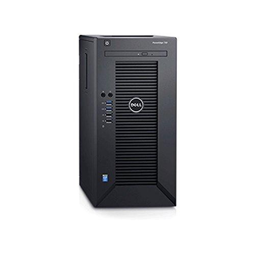 2018 Flagship Dell PowerEdge T30 Business Mini Tower Server System - Intel Quad-Core Xeon E3-1225 v5 8M Cache, 16GB UDIMM RAM, 1TB HDD, DVD+/-RW, HDMI, No Operating System - Black