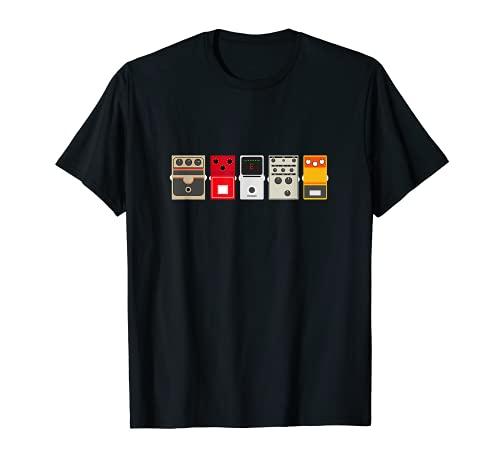 Guitar Effects Pedal / Stomp Box Rock T Shirt