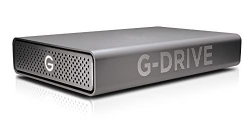 SanDisk Professional 18TB G-DRIVE Enterprise-Class Desktop Hard Drive HDD, Ultrastar Drive Inside, Up to 195MB/s, USB-C (5Gbps), USB 3.2 Gen 1 - SDPH91G-018T-NBAAD