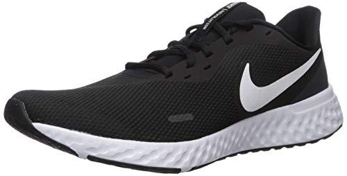 Nike Men's Revolution 5 Running Shoe, Black/White-Anthracite, 10 Regular US