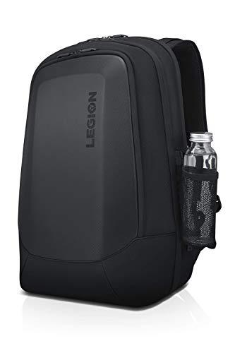 Lenovo Legion 17' Armored Backpack II, Gaming Laptop Bag, Double-Layered Protection, Dedicated Storage Pockets, GX40V10007, Black