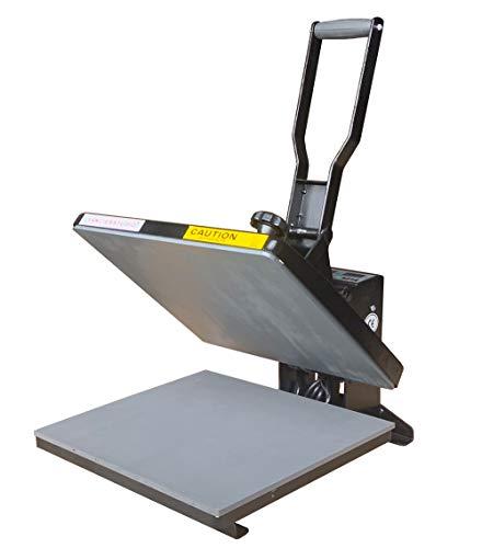 Fancierstudio Power Heat Press 15X15 Sublimation Rhinestone Heat Press T-Shirt Heat Press New Model FS15x15A RB