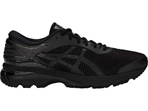 ASICS Men's Gel-Kayano 25 Running Shoes, 10M, Black/Black
