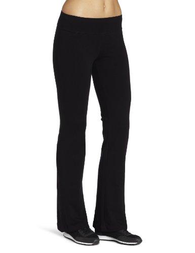 Spalding Women's Plus SizeWomen's Bootleg Pant Yoga, Black, 2X