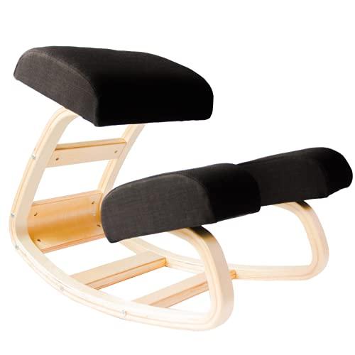 Sleekform Austin Kneeling Chair - Home Office Ergonomic Computer Desk Stool For Active Sitting