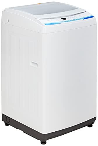 COMFEE' Washing Machine 2.0 Cu.ft LED Portable Washing Machine and Washer Lavadora Portátil Compact Laundry, 6 Models, Energy Saving, Child Lock for RV, Dorm, Apartment Ivory White