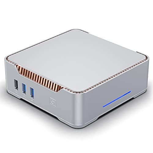 Mini PC,Mini PC Windows 10 Pro,Mini Computer Intel Celeron J4125 Processor(Up to 2.70 GHz),8GB RAM 128GB ROM Micro Computer,Micro PC Support 4K UHD & Triple Display