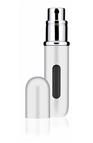 Perfume Atomiser by Travalo Classic HD White / 0.17 fl.oz. 5ml