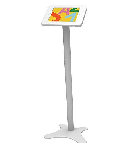 Beelta Tablet 10.2 Floor Stand Kiosk - 360 Swivel for 10.2 iPad 7th/8th Generation Anti-Theft Key Lock BSF301T