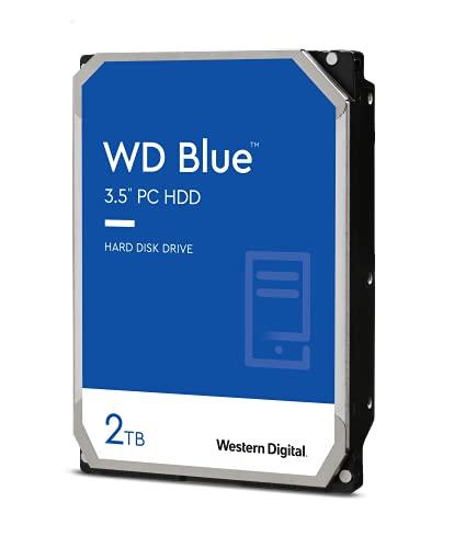 Western Digital 2TB WD Blue PC Hard Drive HDD - 5400 RPM, SATA 6 Gb/s, 256 MB Cache, 3.5' - WD20EZAZ