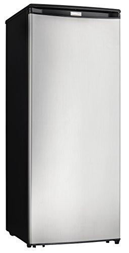 Danby DUFM085A4BSLDD Designer Storage Upright Stand Alone Reversible Deep Freezer Cooler, 8.5 cubic feet