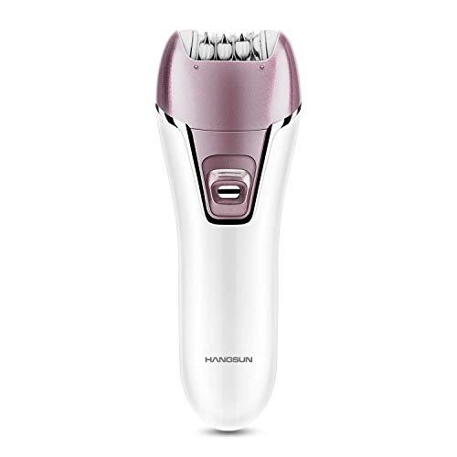 Hangsun Epilator for Women F270 Wet and Dry Hair Removal Kit, 2 in 1 Cordless Lady Shaver Rechargeable Epilator for Women Skin Care