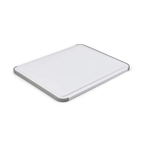 KitchenAid Classic Nonslip Plastic Cutting Board, 11x14-Inch, White