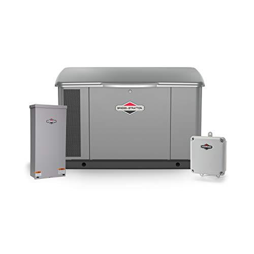 Briggs & Stratton 40621 20kW w/ 200 Amp Symphony II Switch Standby Generator, Gray