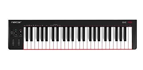 Nektar, 49-Key Midi Controller (SE49),Black white Grey