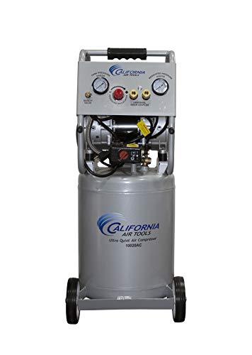 California Air Tools 10020AC Ultra Quiet & Oil-Free 2.0 Hp, 10.0 Gal. Aluminum Tank Air Compressor
