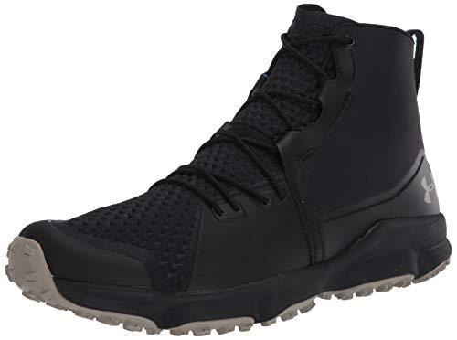 Under Armour Men's Speedfit 2.0 Hiking Boot, Black (003)/Sandy Brown, 8.5