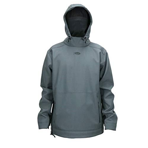 AFTCO Reaper Windproof 3L Pullover - Charcoal - L