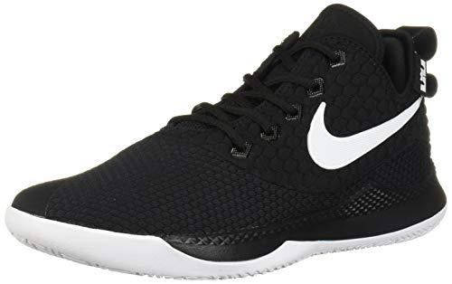 Nike Men's Lebron Witness III Basketball Shoe Black/White/Cool Grey Size 11 M US