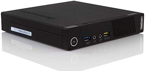 Lenovo ThinkCentre M93P Tiny Desktop, Intel Core i5-4570T, 8GB RAM, 256GB SSD, AC-600 WiFi, HDMI, DVI, VGA, DisplayPort, Windows 10 Pro 64-bit (Renewed)