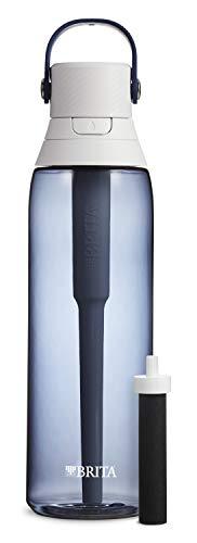 Brita Plastic Water Filter Bottle, 26 Ounce 1, Night Sky