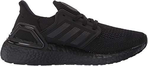 adidas Men's Ultraboost 20 Running Shoe, Black/Black/Solar Red, 8 M US