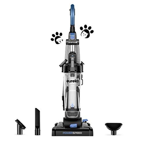 EUREKA PowerSpeed Bagless Upright Vacuum Cleaner, Pet Turbo, Black