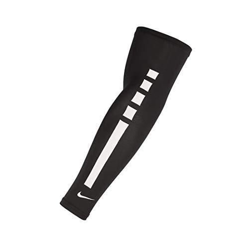 NIKE Unisex's PRO Elite Sleeve 2.0, Black/White, Small-Medium
