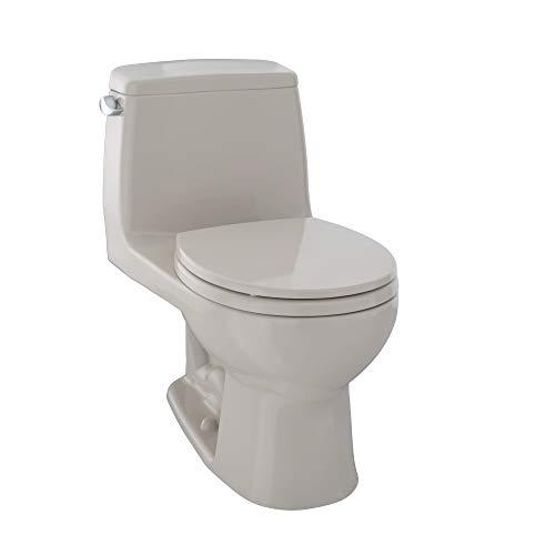 TOTO MS853113E#03 Eco Ultramax Round Front One Piece Toilet, Bone