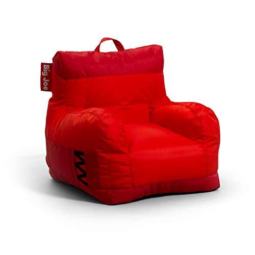 Big Joe Dorm Bean Bag Chair, Two Tone Red