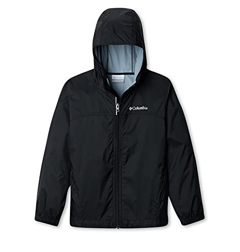 Columbia Boys Glennaker Rain Jacket, Black, Large