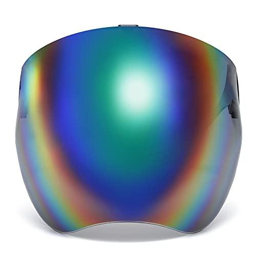 100 Classic Multicolor Protective Sunglasses Lightweight Visor Full Face Cover UV 400 for Men and Women FCMC1