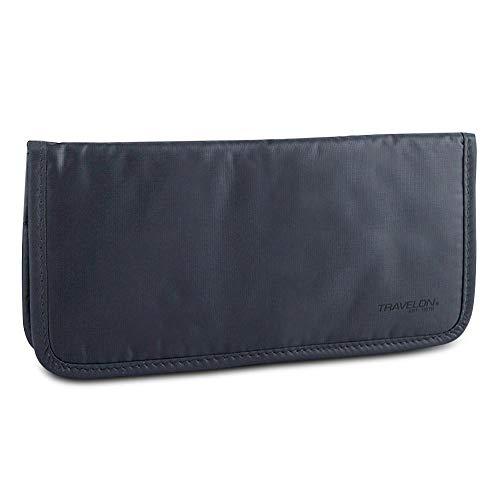 Travelon New Safe ID Ladies Wallet with RFID Blocking, Dark Gray