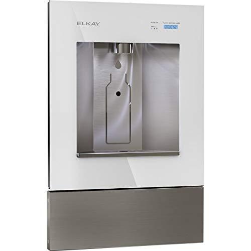 Elkay LBWD00WHC ezH2O Liv Built-in Filtered Water Dispenser, Non-refrigerated, Aspen White
