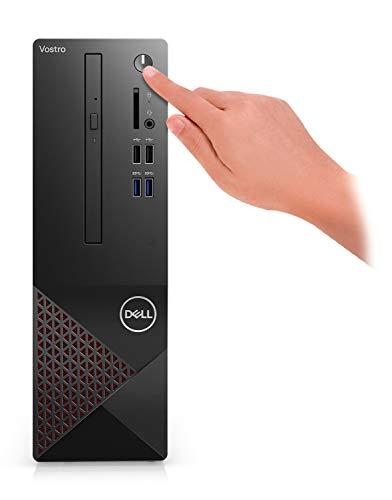 2021 Newest Dell Vostro (Better Than Inspiron) 3000 Series 3681 SFF Desktop Computer, Intel Core i5-10400 6-Core Processor, 8GB RAM, 128GB SSD + 1TB HDD, Wi-Fi, HDMI, VGA, DVD, Windows 10 Pro, Black