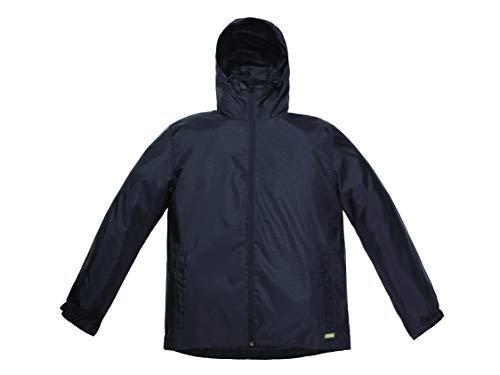 Solstice Apparel Men's Non-Taped Rain Jacket, Black, Extra Large, P5686