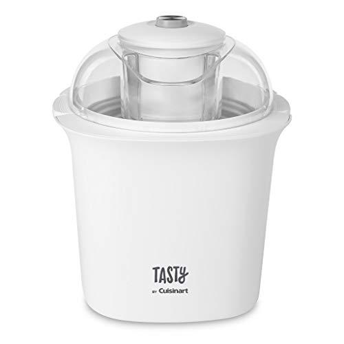 Cuisinart ICM100T Tasty Ice Cream Maker, 8.71'(L) x 8.71'(W) x 10.49'(H), White