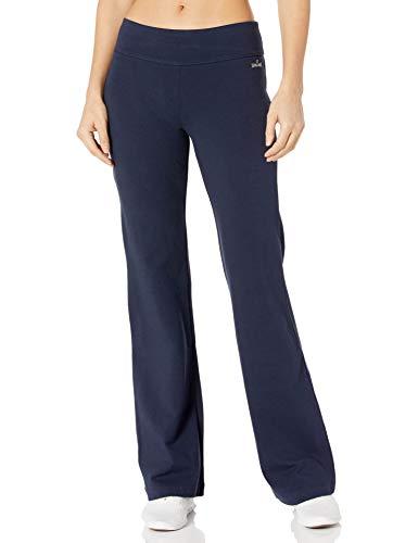 Spalding Women's Bootleg Yoga Pant, Ultra Navy, Large