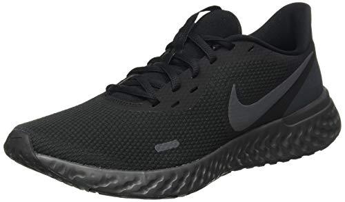 Nike Men's Revolution 5 Running Shoe, Black/Anthracite, 10.5 Regular US